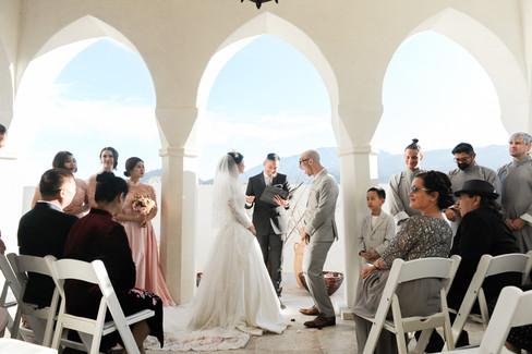 WEDDING AT FOOTHILLS OF SANTA ROSA MOUNTAINS LA QUINTA CA BY LOS ANGELES WEDDING PHOTOGRAPHER CLAIRE BARRETT 36