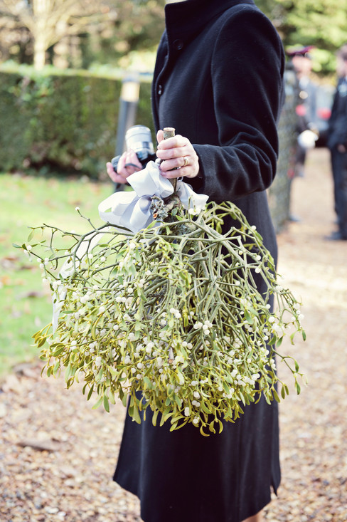 winter wedding in the english countryside by uk wedding  Claire Barrett 21