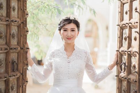 WEDDING AT FOOTHILLS OF SANTA ROSA MOUNTAINS LA QUINTA CA BY LOS ANGELES WEDDING PHOTOGRAPHER CLAIRE BARRETT 25