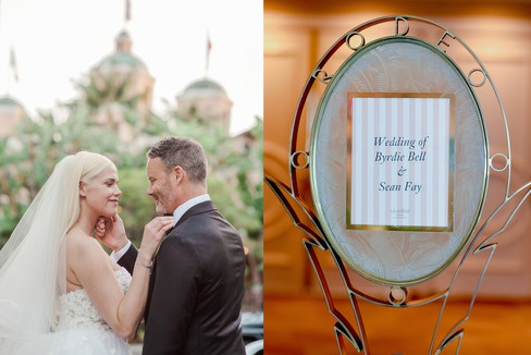 Wedding at the Beverly Hills Hotel by LA wedding photographer 48