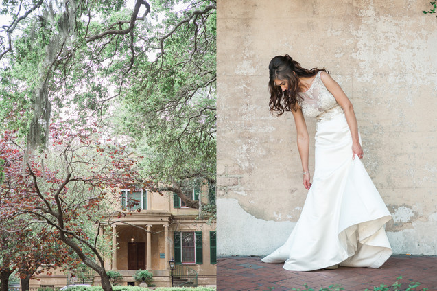 wedding at the historic whitman mansion forsyth park savannah by savannah wedding photographer 19