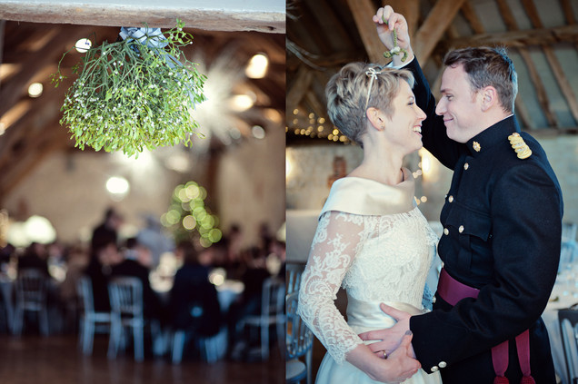 winter wedding in the english countryside by uk wedding  Claire Barrett 38