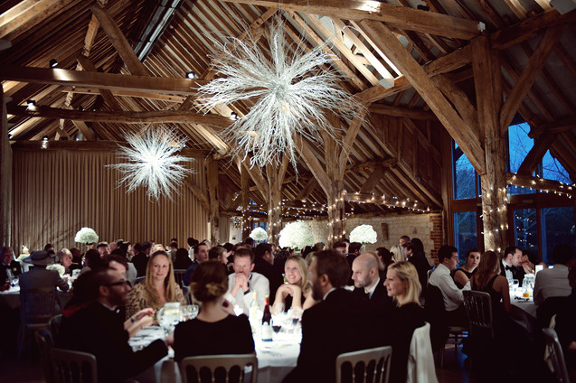 winter wedding in the english countryside by uk wedding  Claire Barrett 49
