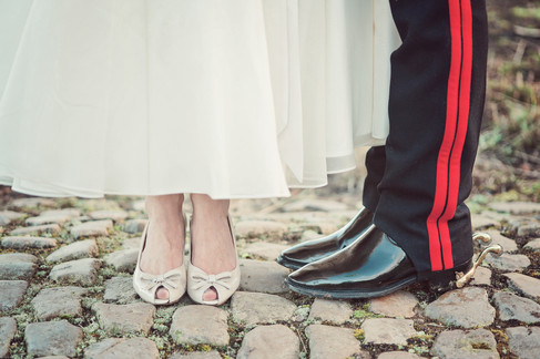 winter wedding in the english countryside by uk wedding  Claire Barrett 33