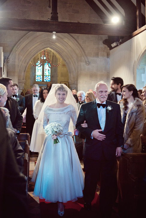 winter wedding in the english countryside by uk wedding  Claire Barrett 19