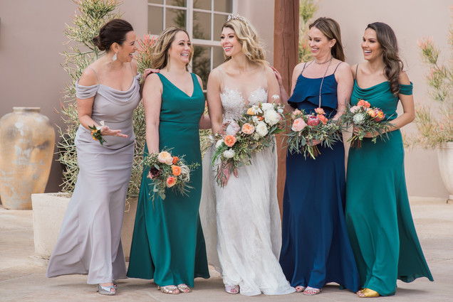 Bride and Bridesmaids, Scottsdale Arizona