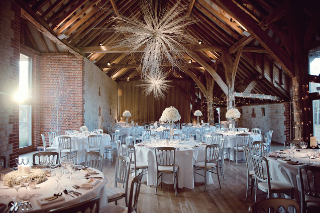 winter wedding in the english countryside by uk wedding  Claire Barrett 37