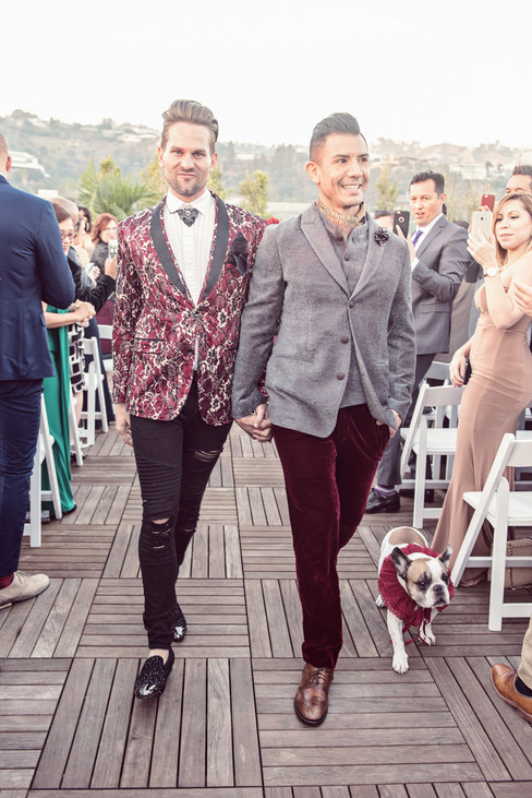 GAY WEDDING AT THE LONDON WEST HOLLYWOOD BY LOS ANGELES PHOTOGRAPHER CLAIRE BARRETT 40