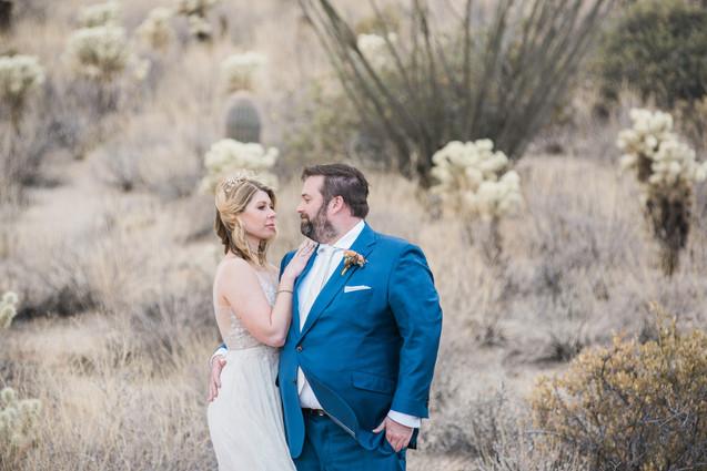 bride and grrom scottsdale arizona