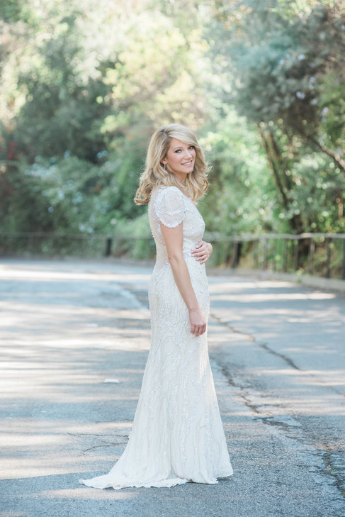WEDDING AT THE LUXE HOTEL LOS ANGELES BY PHOTOGRAPHER CLAIRE BARRETT 22