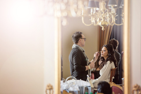 winter wedding at the millenium biltmore hotel los angeles by los angeles wedding photographer 7