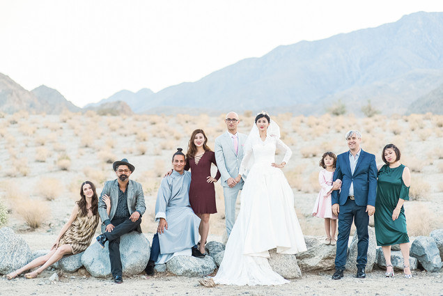 WEDDING AT FOOTHILLS OF SANTA ROSA MOUNTAINS LA QUINTA CA BY LOS ANGELES WEDDING PHOTOGRAPHER CLAIRE BARRETT 30