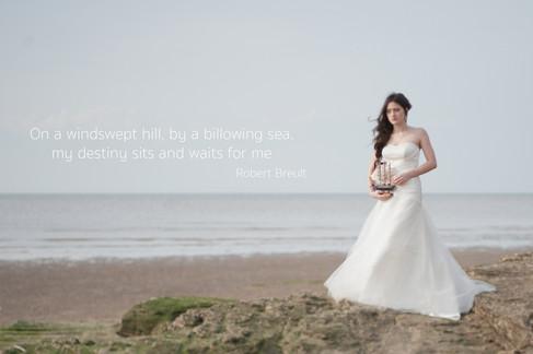 Romantic fine art uk wedding photography