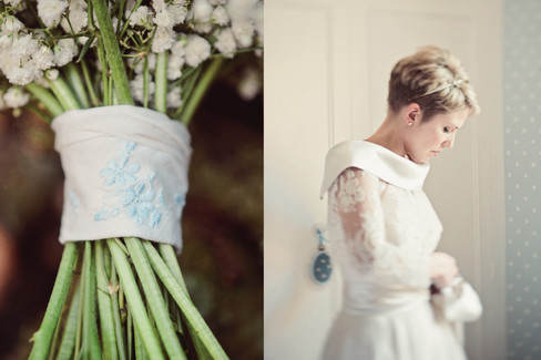 winter wedding in the english countryside by uk wedding  Claire Barrett 6