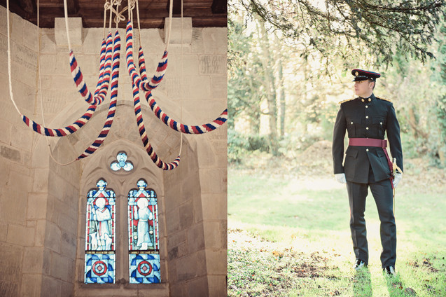 winter wedding in the english countryside by uk wedding  Claire Barrett 13