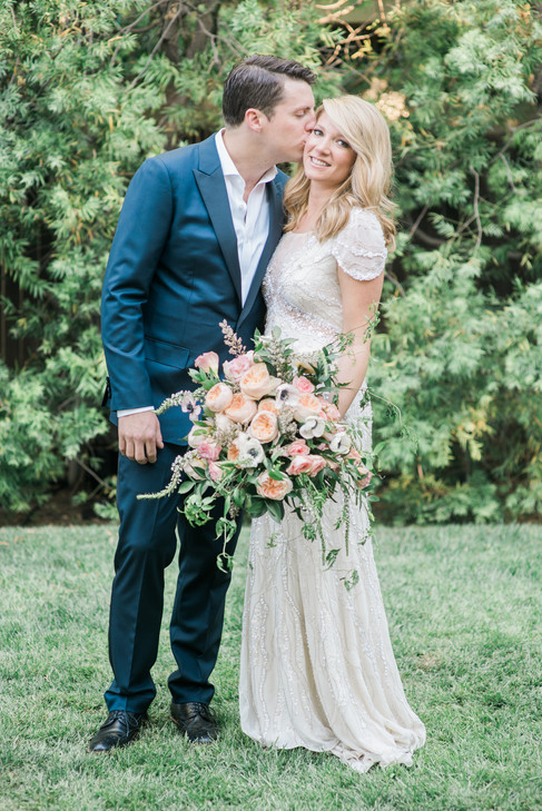 WEDDING AT THE LUXE HOTEL LOS ANGELES BY PHOTOGRAPHER CLAIRE BARRETT 16