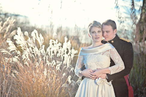 winter wedding in the english countryside by uk wedding  Claire Barrett 35