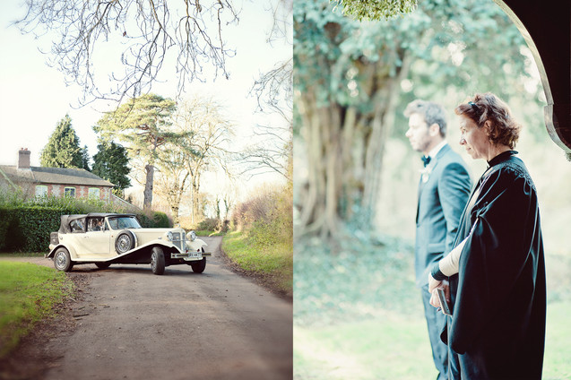 winter wedding in the english countryside by uk wedding  Claire Barrett 18