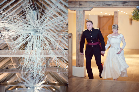winter wedding in the english countryside by uk wedding  Claire Barrett 44