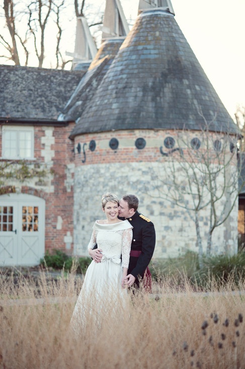 winter wedding in the english countryside by uk wedding  Claire Barrett 30