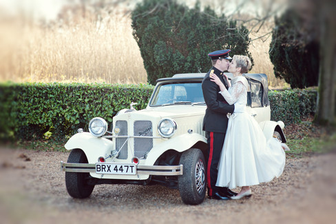 winter wedding in the english countryside by uk wedding  Claire Barrett 27