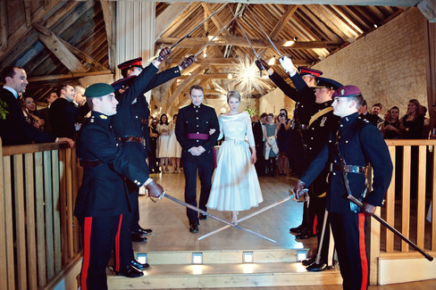 winter wedding in the english countryside by uk wedding  Claire Barrett 45