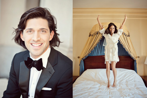 winter wedding at the millenium biltmore hotel los angeles by los angeles wedding photographer 10