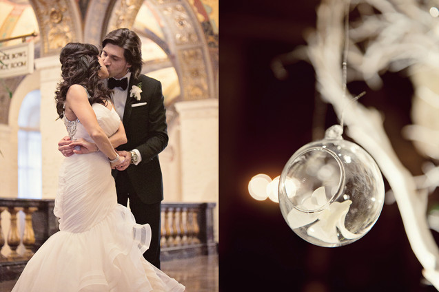 winter wedding at the millenium biltmore hotel los angeles by los angeles wedding photographer 25