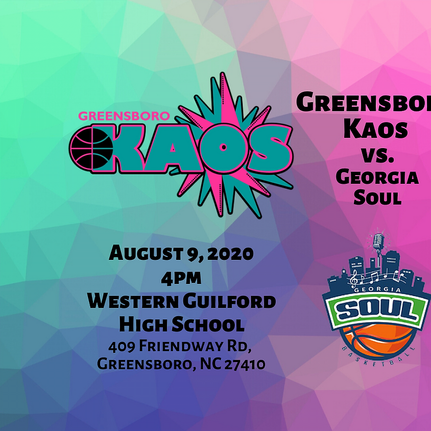 Game Day Greensboro Kaos vs. Georgia Soul