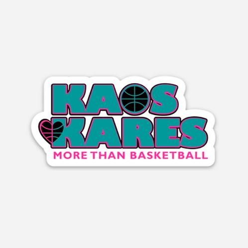 Kaos Kares Sticker