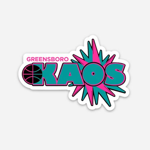 Greensboro Kaos Magnet