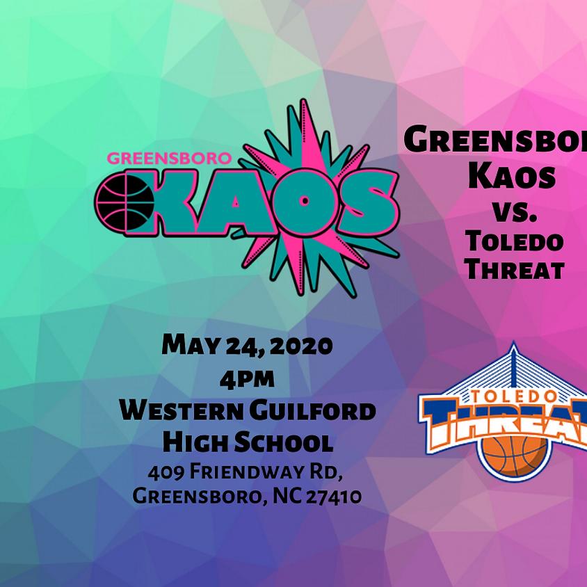 Game Day Greensboro Kaos vs. Toledo Threat