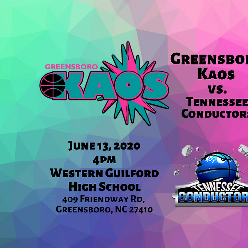 Game Day Greensboro Kaos vs. Tennessee Conductors