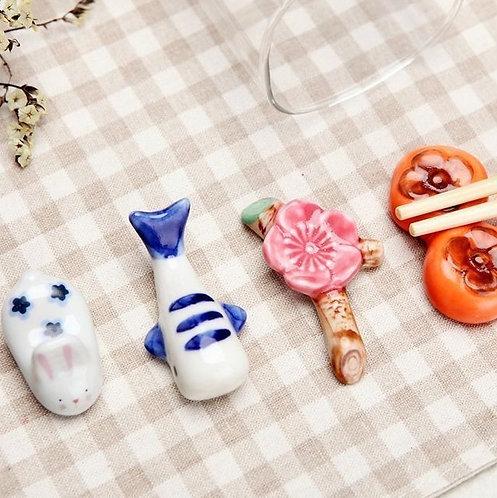 創意陶瓷筷子架