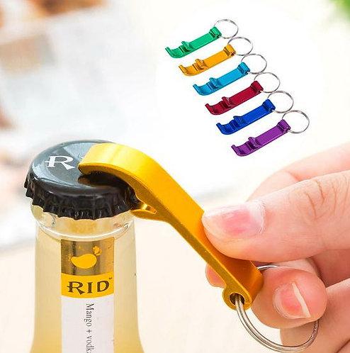 創意彩色啤酒開瓶器鑰匙圈30入