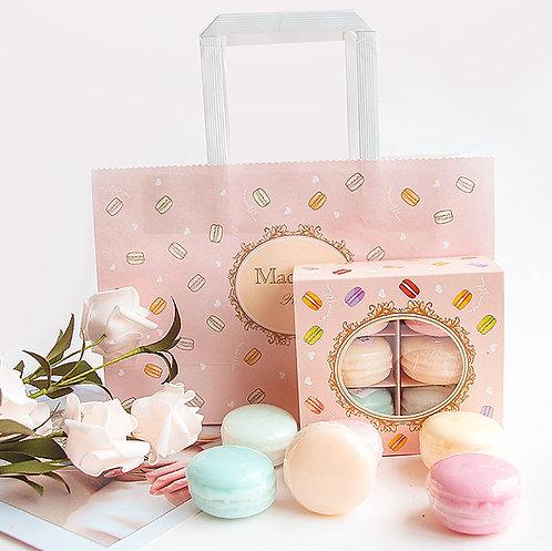 手作馬卡龍香皂禮盒