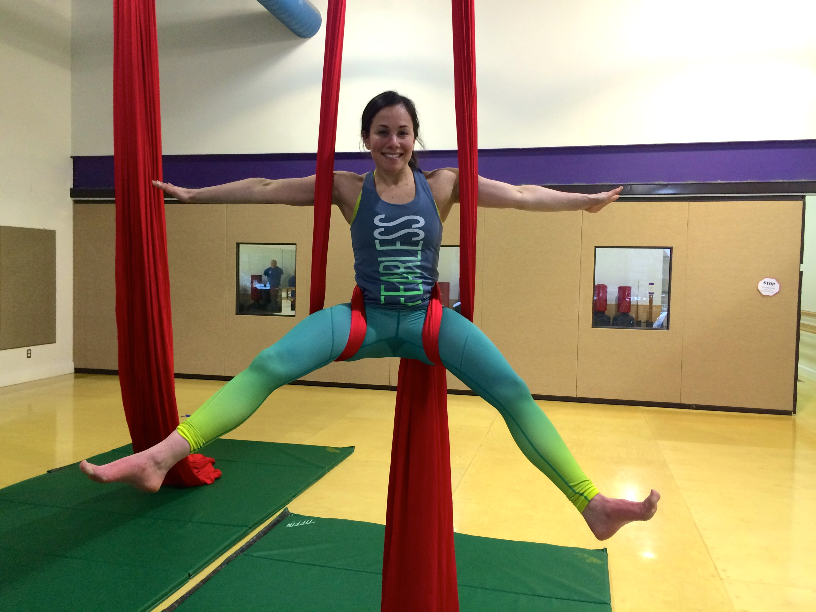 Aerial Silks in Eagle River