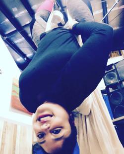 upside down hang aint no thang