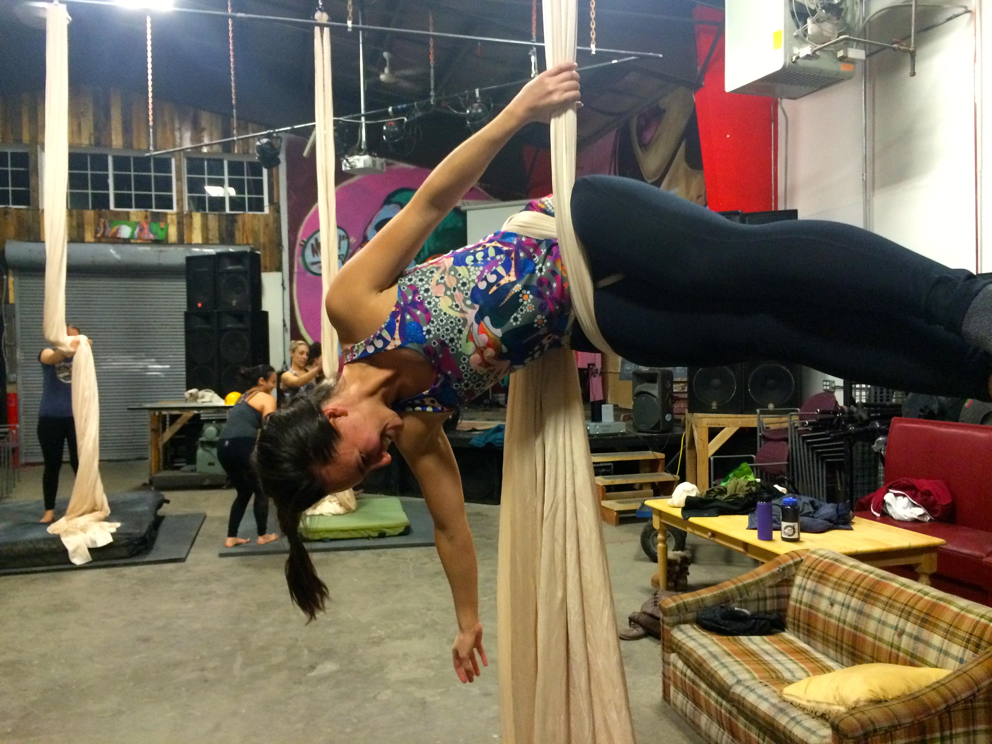 Aerial Silk Fun