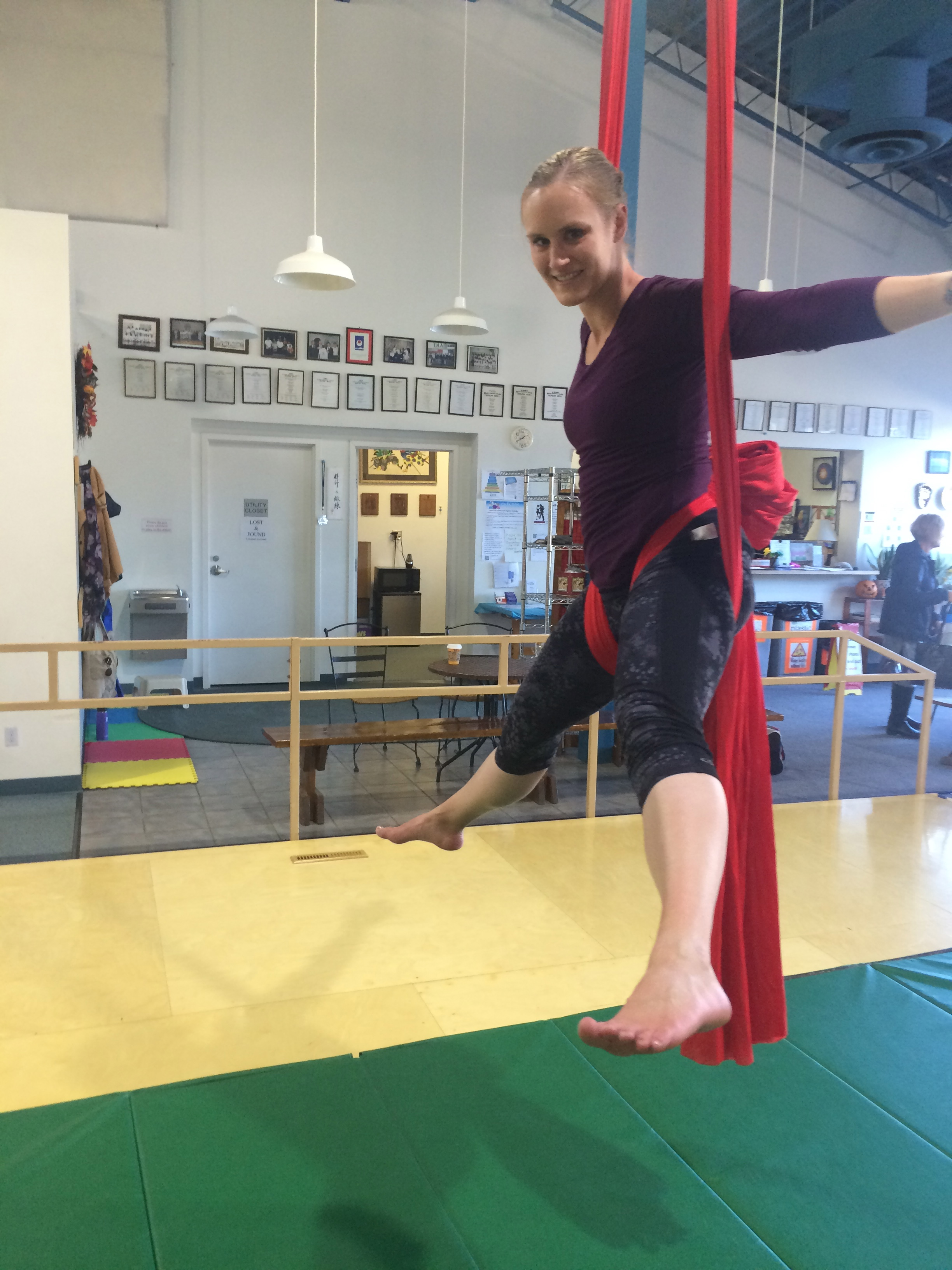 Aerial Silk Classes in Alaska