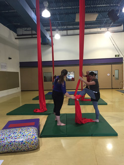 Learn the art of Aerial Acrobatics
