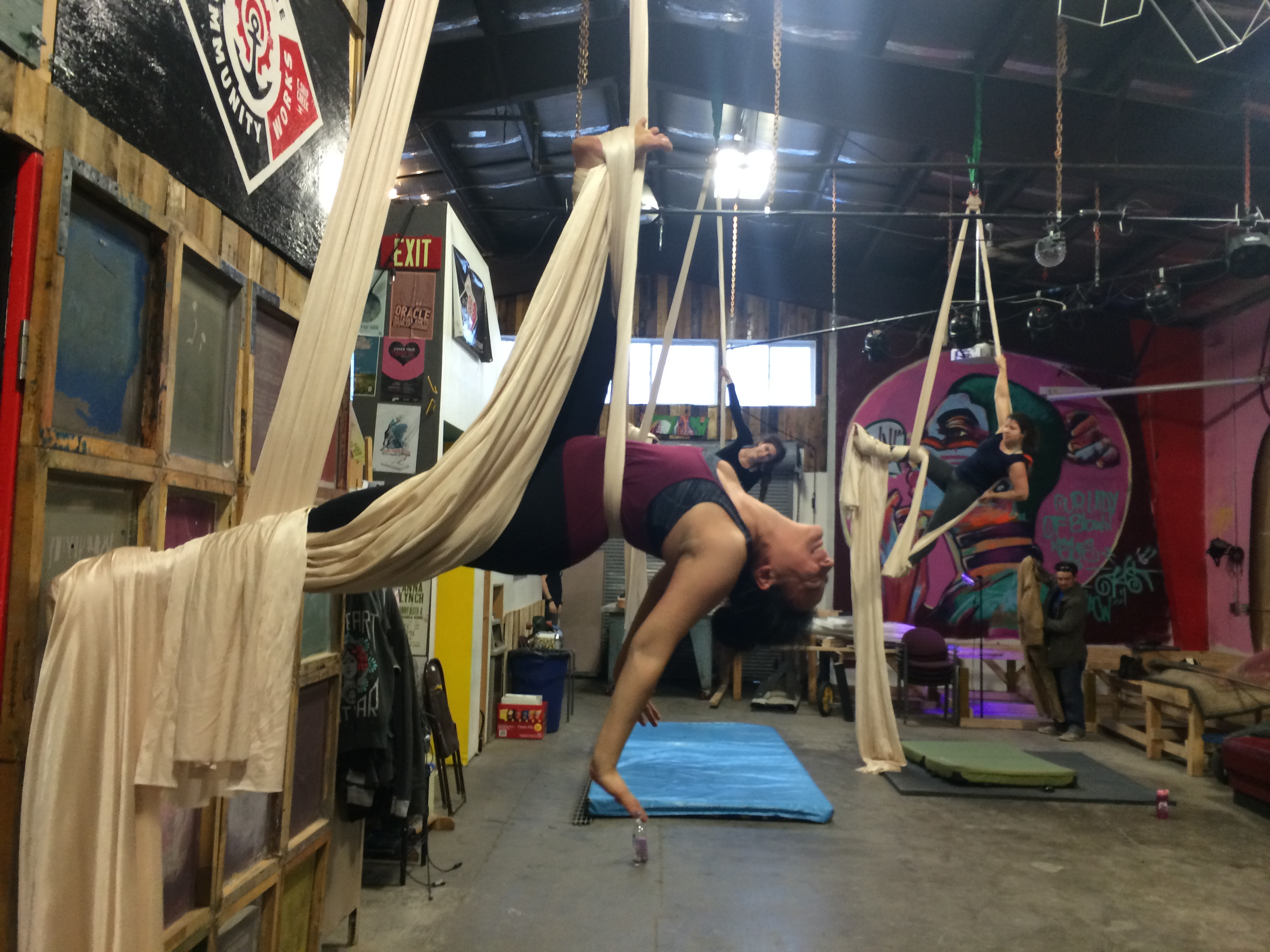 Aerial Silks - Tear Drop