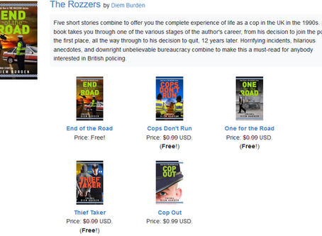 Four out of five of my ebooks now free!