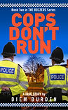 Book cover Cops don't Run by Diem Burden