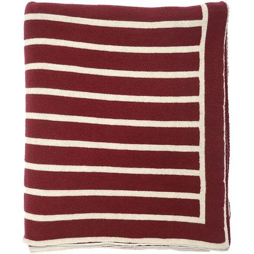 Stripe Knit Blanket