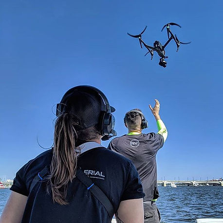 Kristy Foster Flying The Freefly ALTA 8 Multi-Rotor Drone