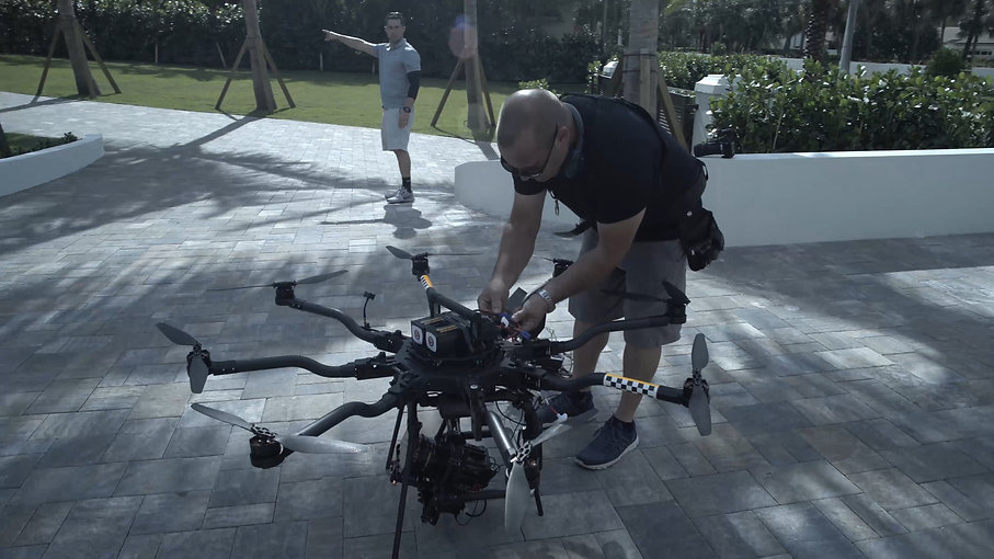 Keith Colodny With ALTA 8 Multi Rotor Drone