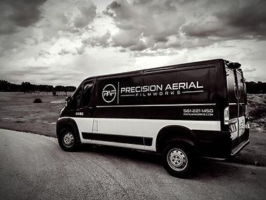 Precision Aerial Filmworks Van