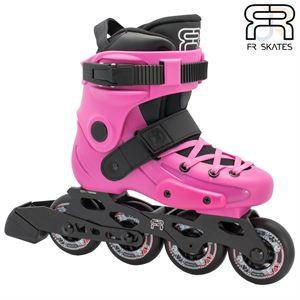Fr Pink kids adjustable skates
