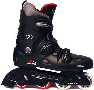 Misty ii black and red rollerblades